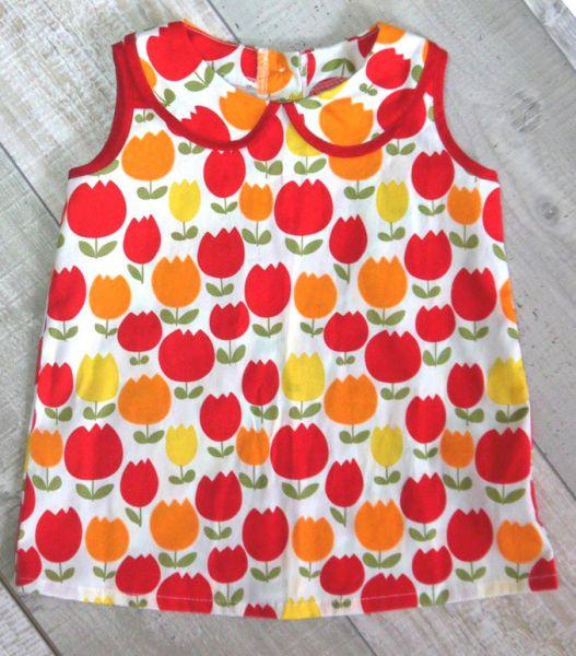 Платье для девочки из бязи