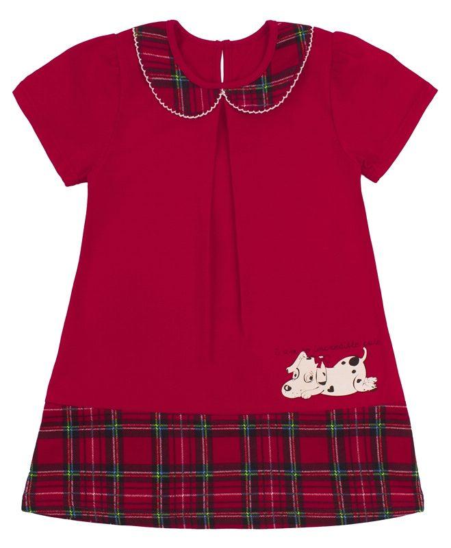 Платье Собачка с бантиком