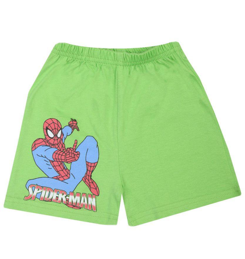Зеленые шорты Человек-паук
