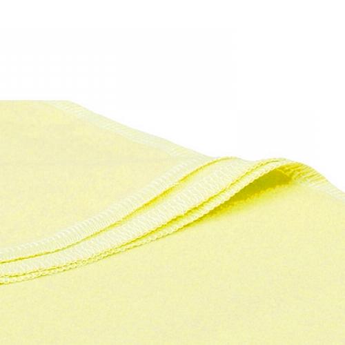 Желтая фланелевая пеленка, 85x120 см
