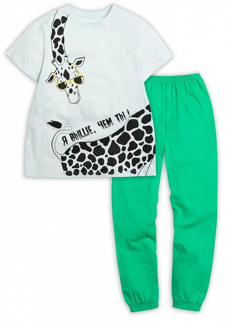 Пижама для мальчика из футболки и брюк