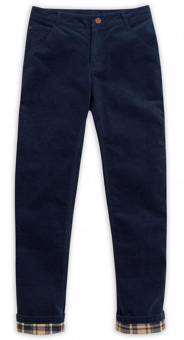 Темно-синие брюки для мальчика 10 лет