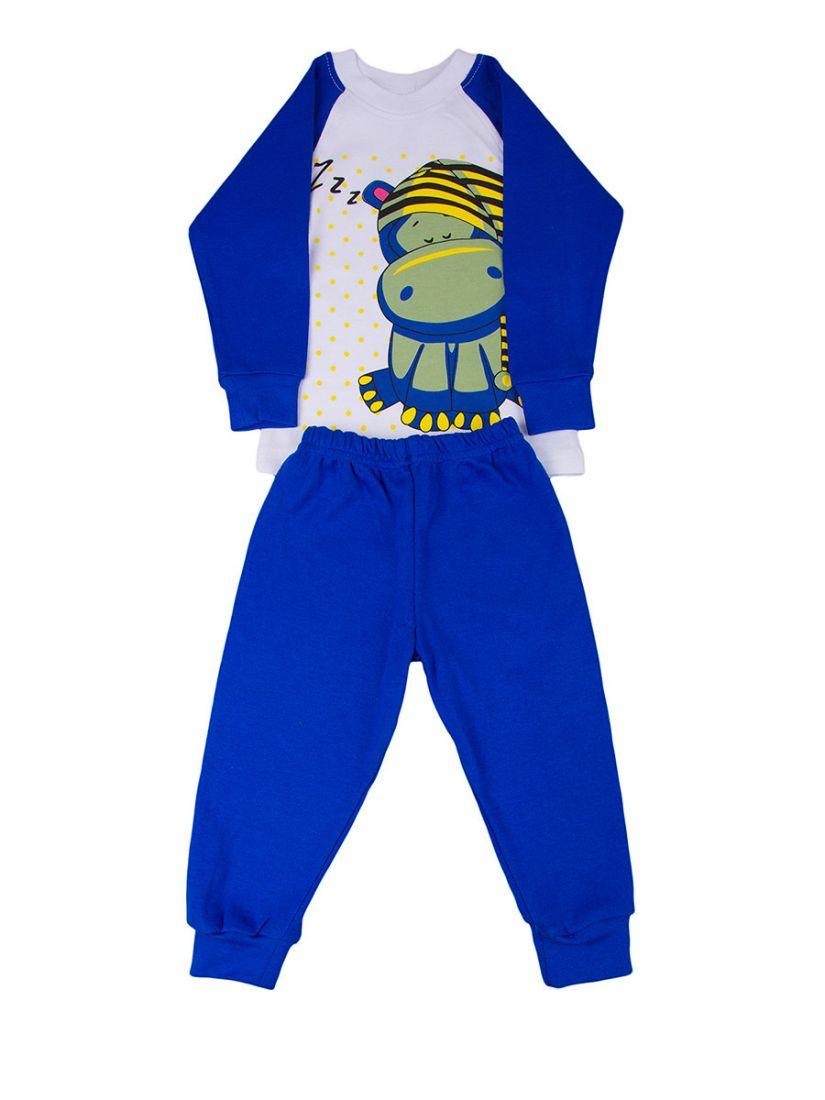 Пижама для мальчика Бегемотик