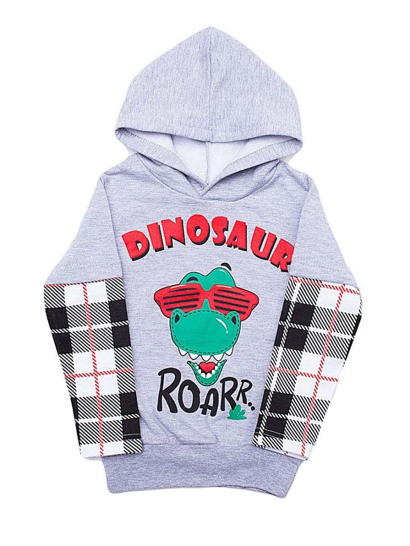 Толстовка с начесом Dinosaur