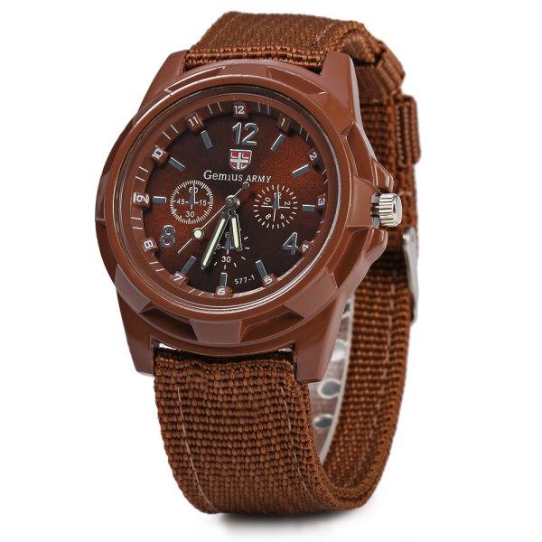 Часы Gemius Army коричневые