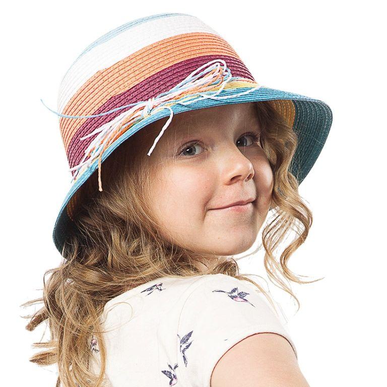 Соломенная шляпа для девочки