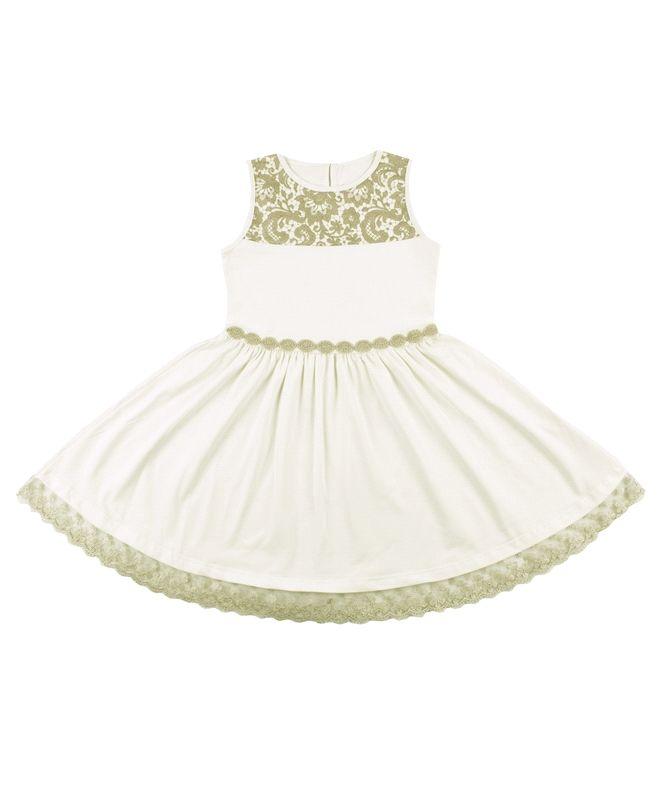 Платье для девочки Гипюр