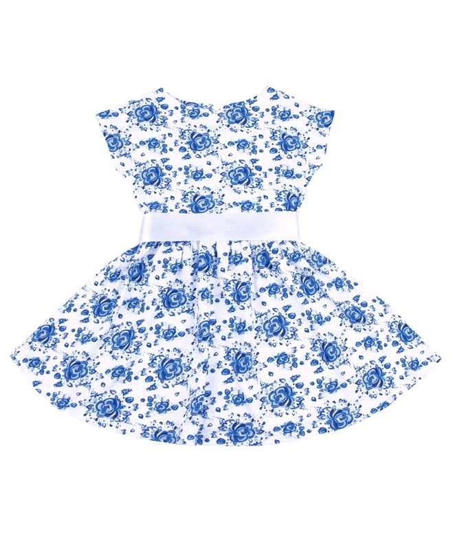Платье для девочки Летний блюз