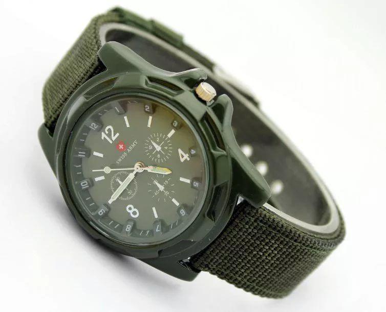 Наручные часы Swiss Army зеленые
