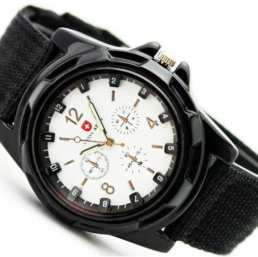 Часы Swiss Army черные