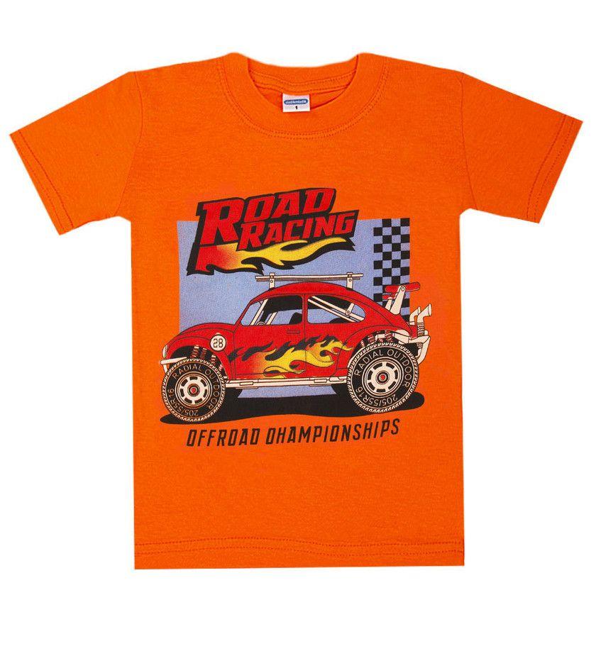 Футболка оранжевая Road Racing