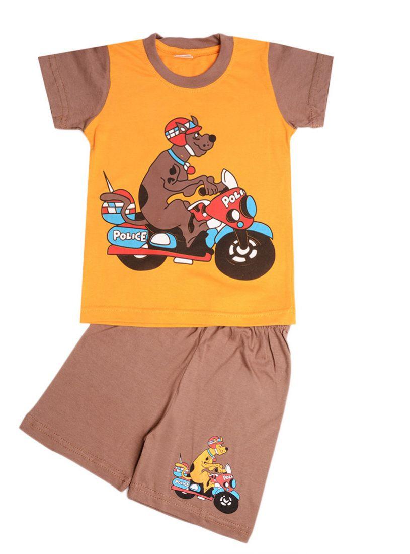 Комплект из футболки и шорт для мальчика