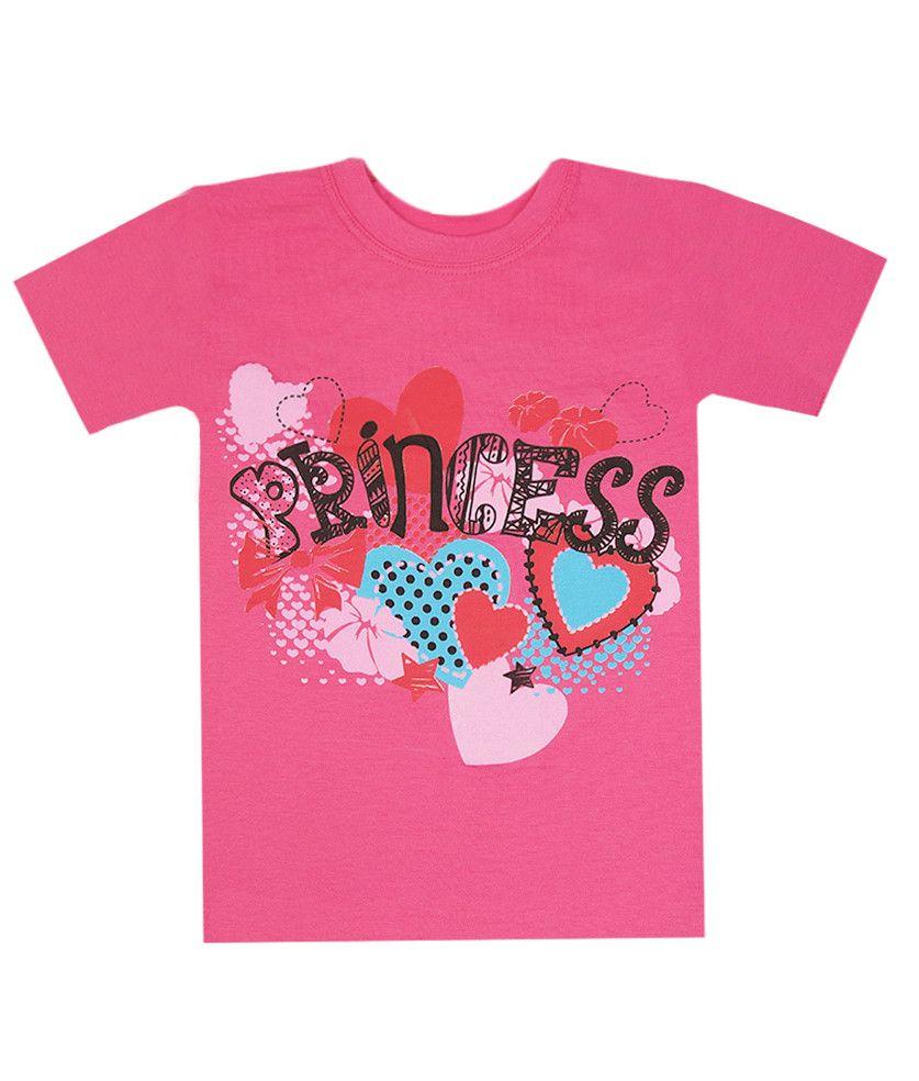 Футболка для девочки Принцесса