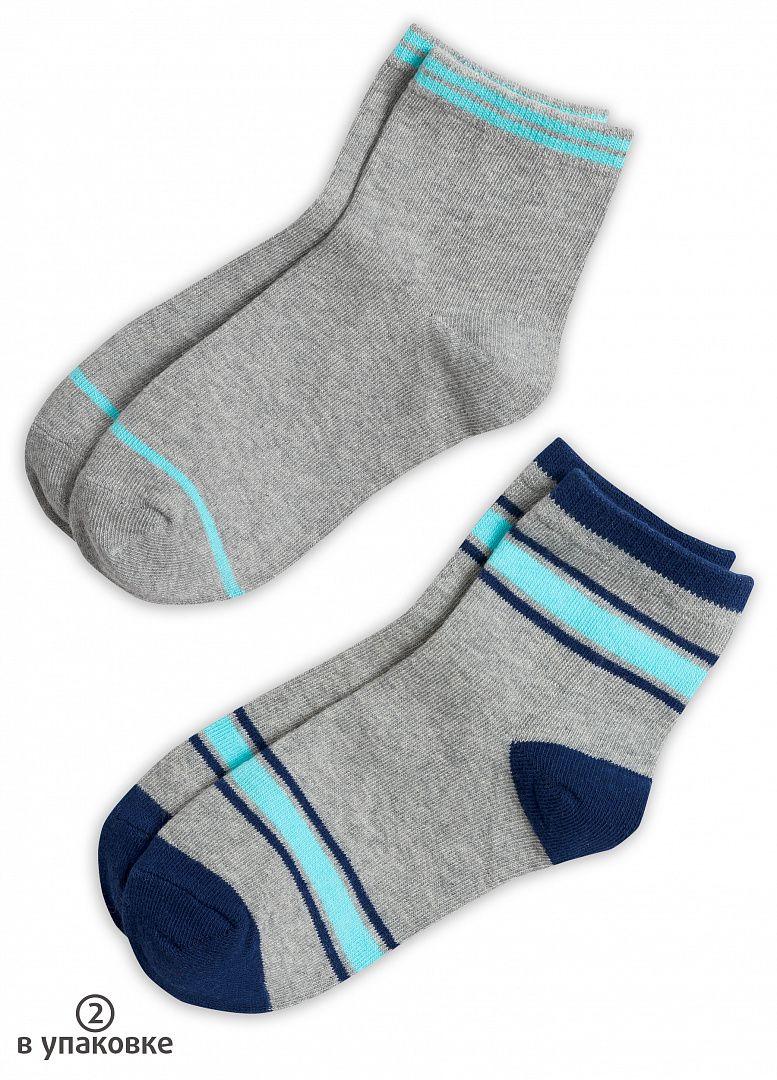 Серые носки для мальчиков