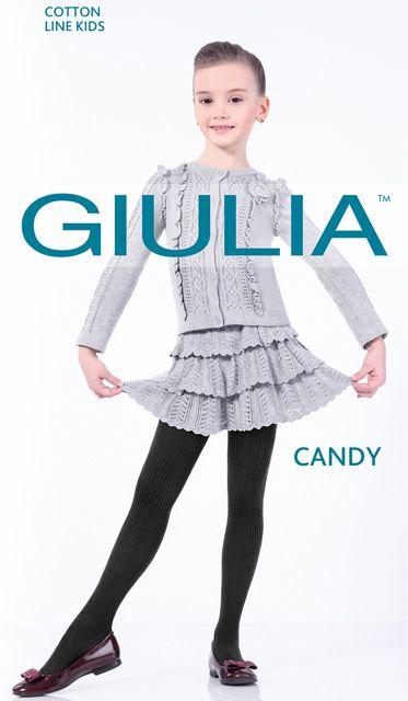 Черные колготки для девочки Giulia