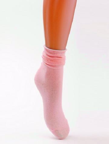 Розовые носки для девочки 7-9 лет