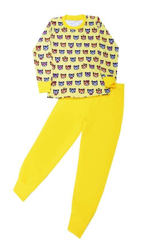 Пижама для девочки Котята