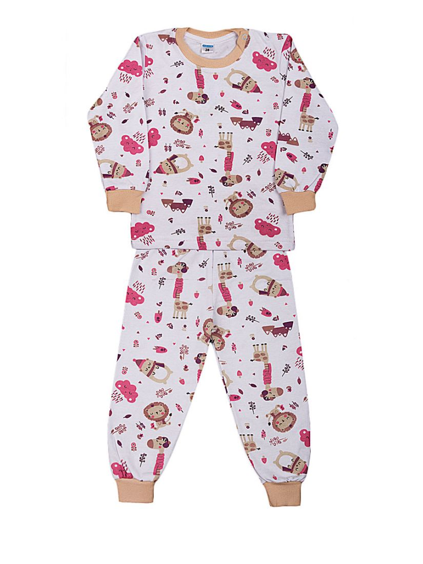 Пижамы с начесом Animals