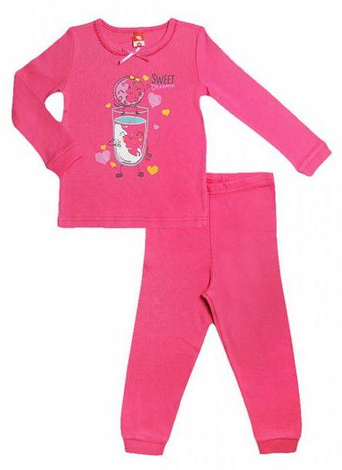 Пижама для девочки Коктель