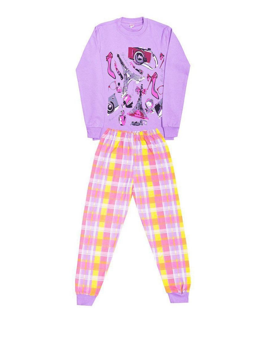 Пижама для девочки Париж