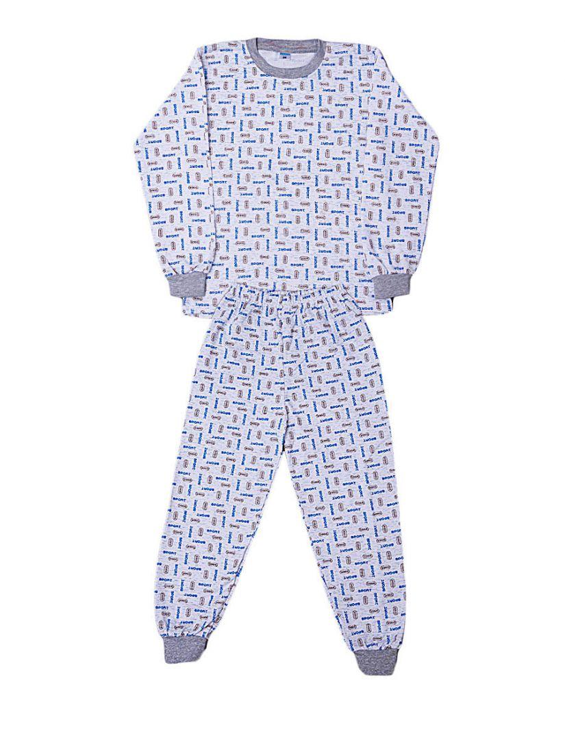 Пижама с начесом для мальчика Спорт