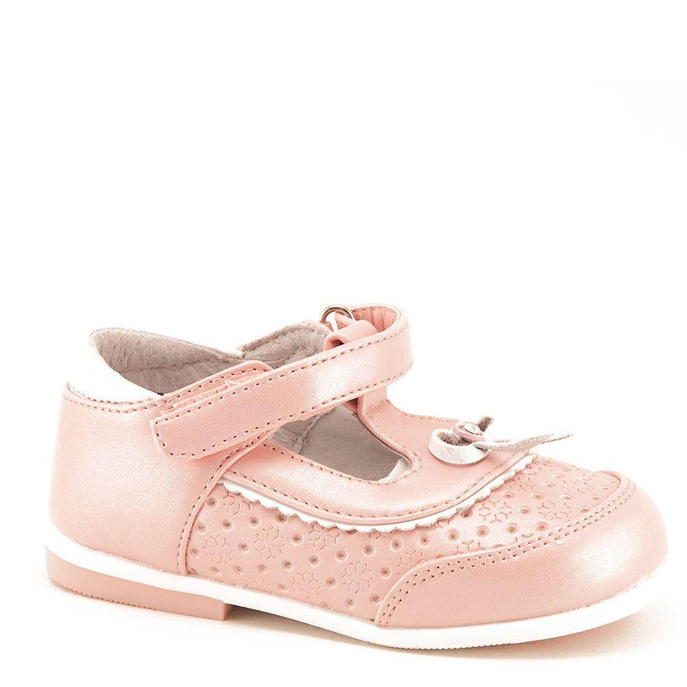 Туфли для девочек цвет розовый