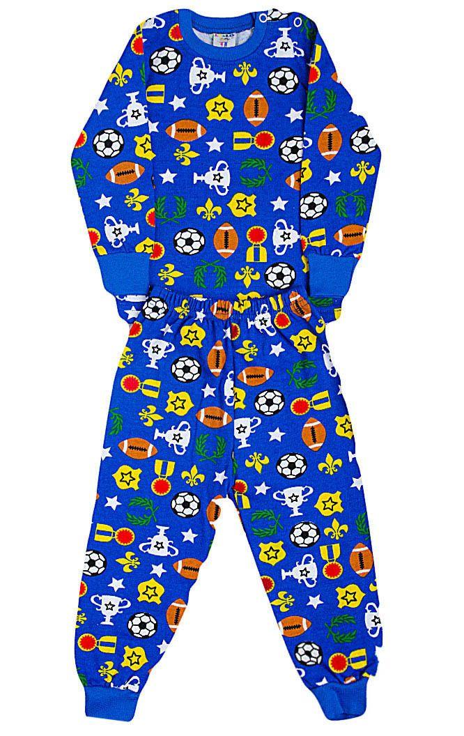 Пижама с начесом для мальчика Чемпион