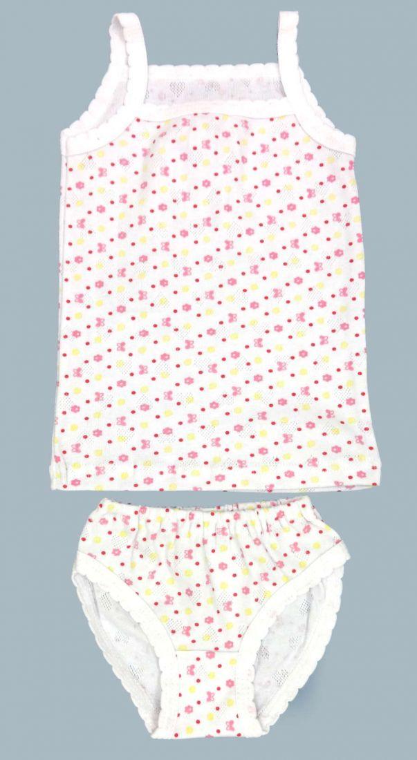 Комплект белья для девочки Бабочки