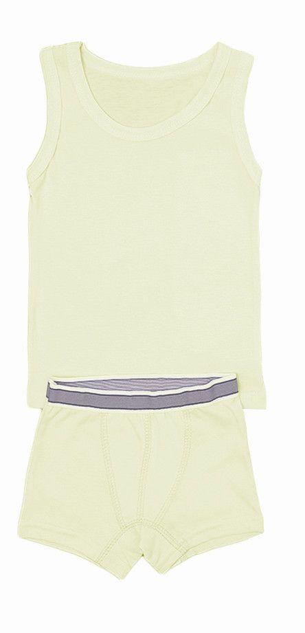 Комплект белья для мальчика Крем