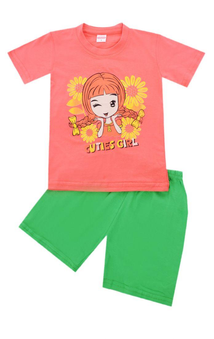 Футболка с шортами Cuties Girl