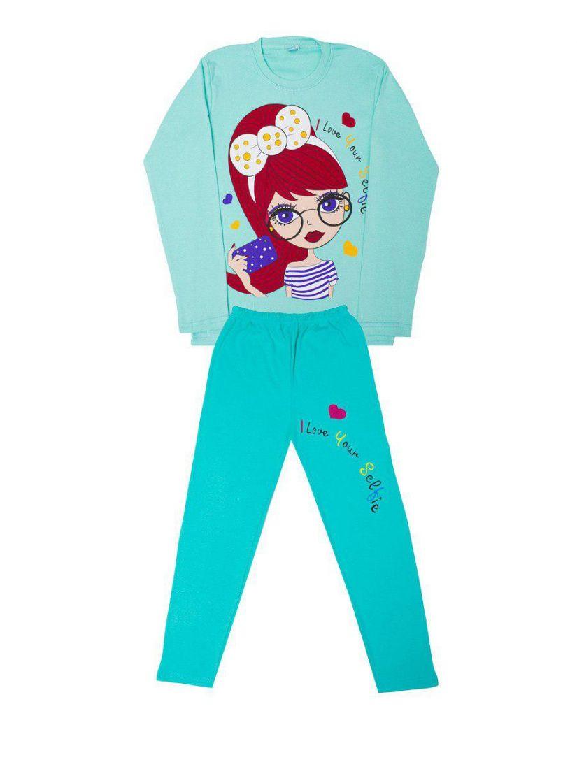 Пижама для девочки Selfie