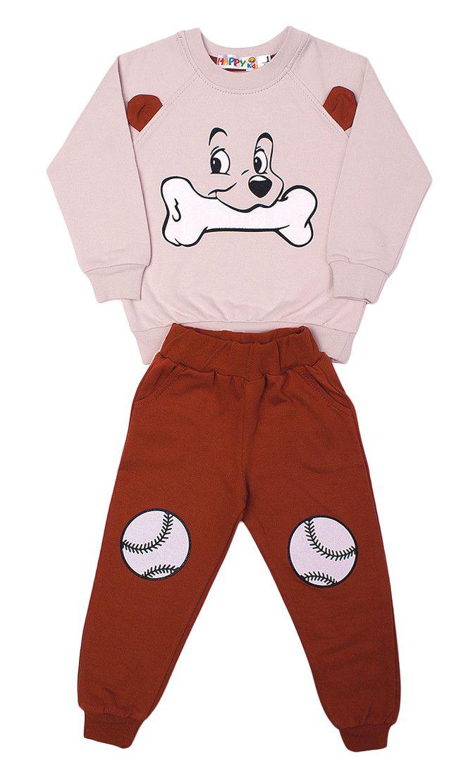 Трикотажный костюм для мальчика Doggy