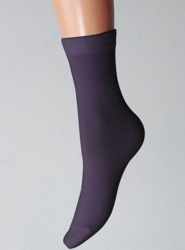 Женские темно-синие носки на размер 23-25