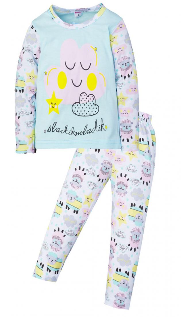 Нежная пижама для девочки из хлопка