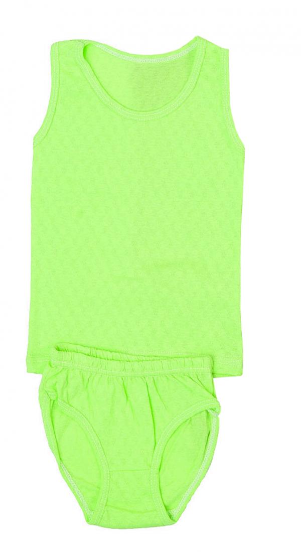 Нижнее белье для девочки зеленого цвета