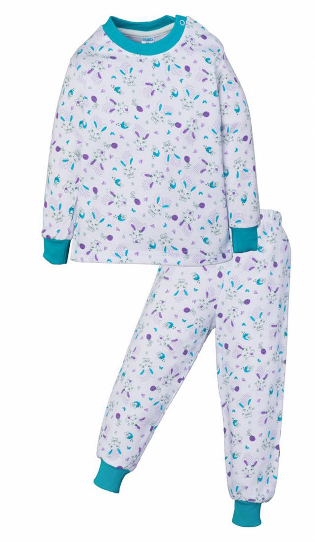 Пижама с начесом для девочки Зайки